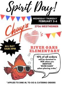 Spirit Day at Chuy's